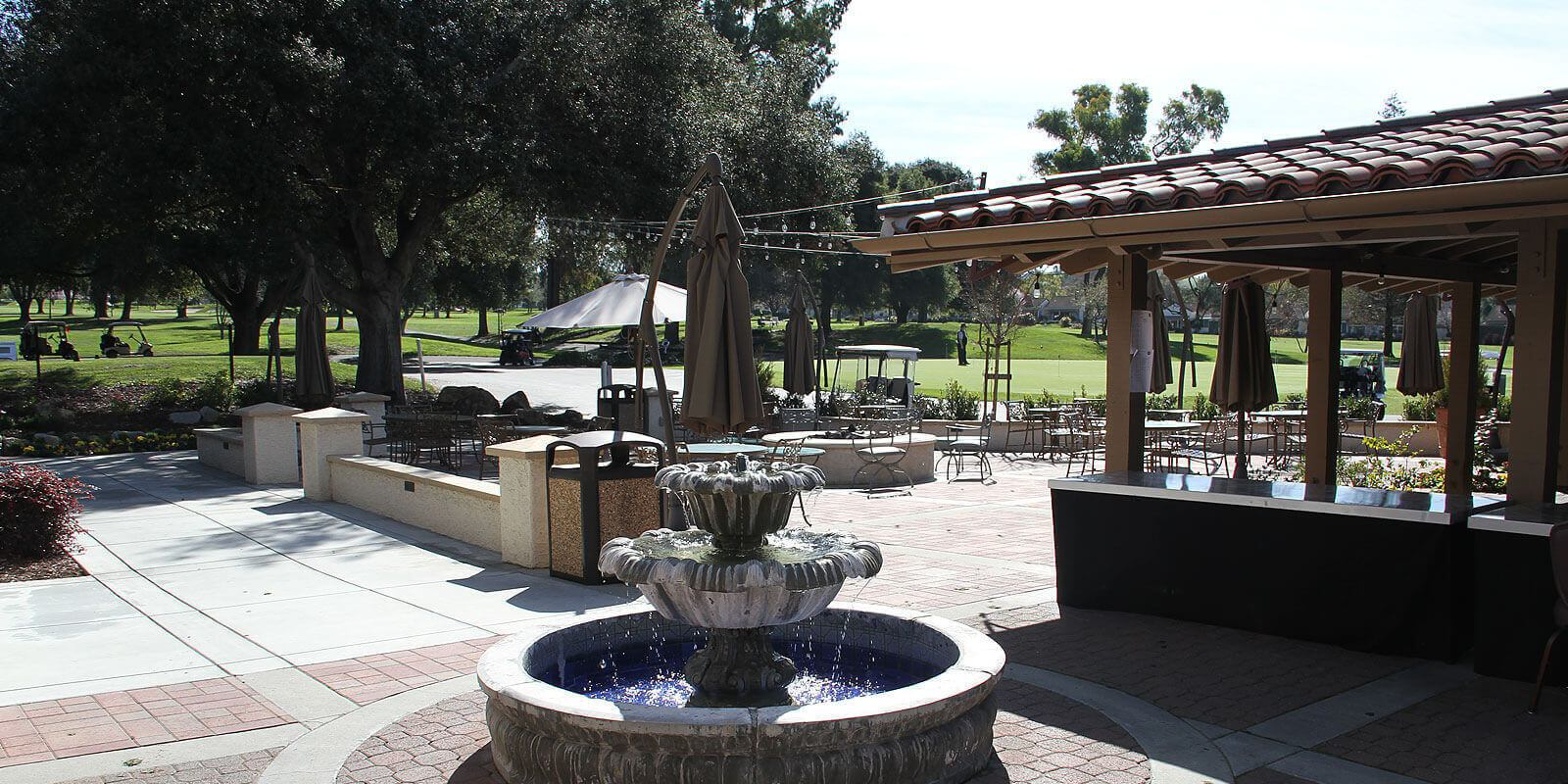 San Jose Golf Country Club Fountain | Jill Curry Real Estate